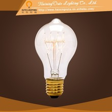 Modern pendant lighting tungsten filament bulb,A19 quad loop 220v-240v 40w