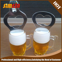 Simela European Beer Bottle Shape Promotional Gift Opener