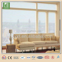 Office auto car roll up window shangri-la blinds fabric sun shade