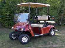 Customized Design Clear Folding acrylic/PC Windshield Best Seller golf carts windshield