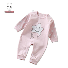 long sleeved clothing crawling baby rompers