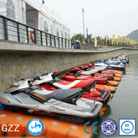 100% recyclable floating units for jet ski