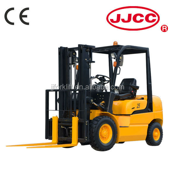 Diesel Forklift truck CPCD30 Diesel Engine Power Souce and Manual Pallet Truck Type forklift with paper roll clamp