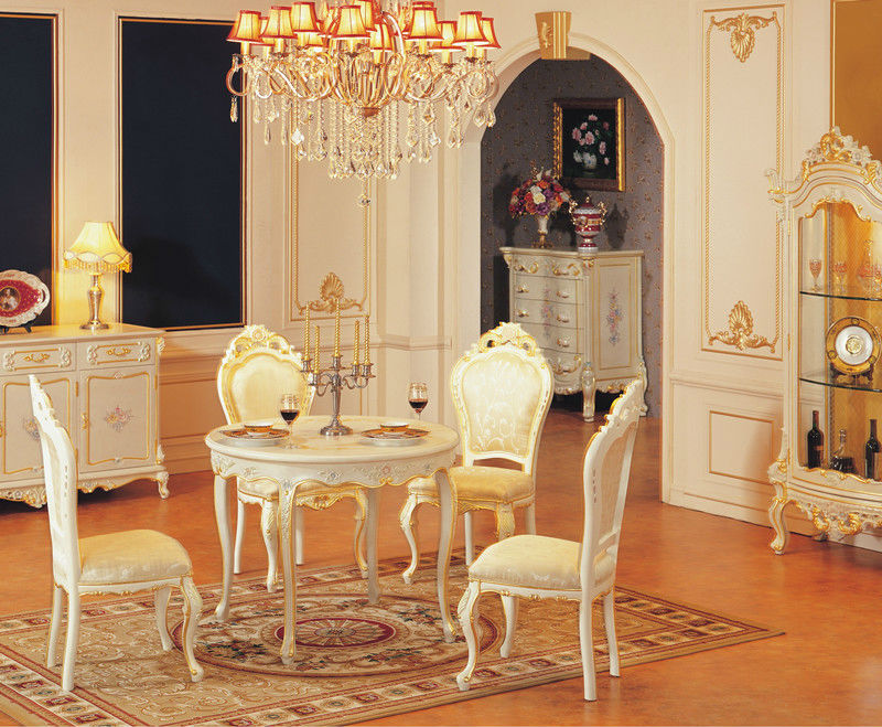 antique white dining room furniture sets luxury furniture Baroque style dining room set