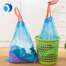 Large Plain Garbage Plastic Bag With Lables