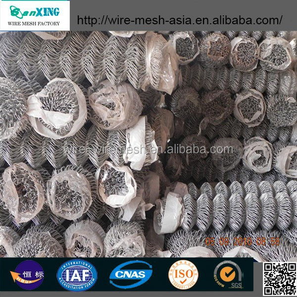 hot sale! chain link fence for baseball ground from anping sanxing wire mesh factory china