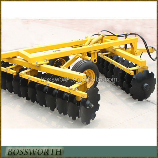 agricultural implements disc drag harrow