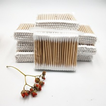 biodegradable material and packing for bamboo q tip ear cotton swab / bubs