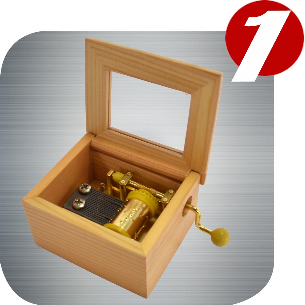 Custom Music Box (plays your choice of music) by Simply Cool Gifts