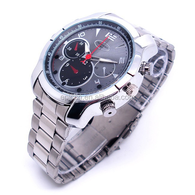 Hot selling watch video camera, women watch hidden camera, bracelet watch camera