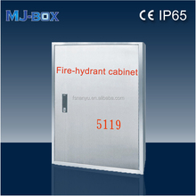 (MJ )SF 950 machine pressed Red GRP fire hose cabinet for fire-fighting