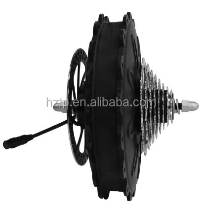 500W electric bike hub cassette motor