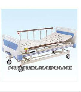 High quality movable folding bed with ABS head/foot board(Central locking) B-10