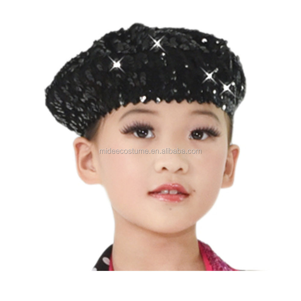 MiDee Full Sequin Jazz Dance Hat For Girls