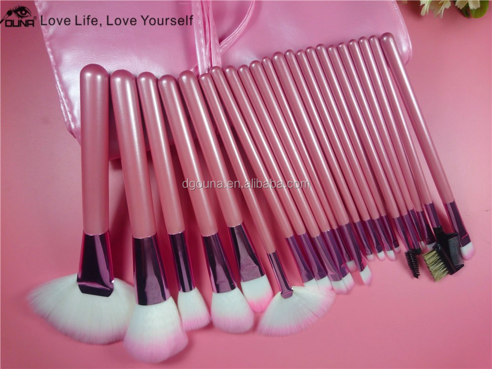 OUNA wholesale Free samples custom logo naked premium makeup brush kits