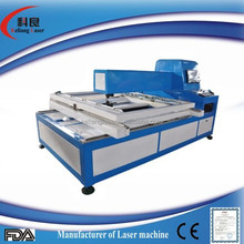 laser die board cutting machine working on 18mm playwood