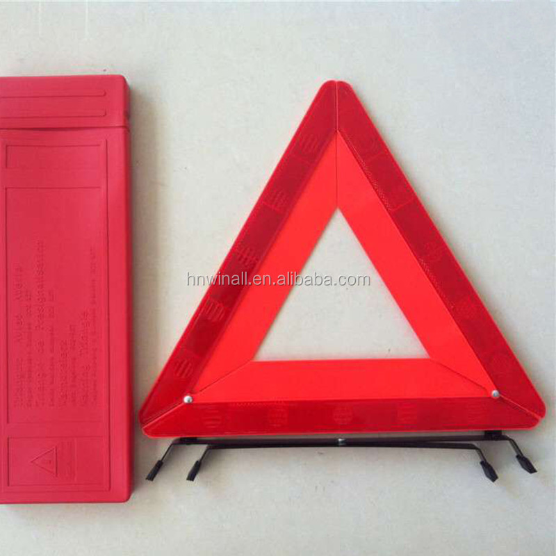 Road safety products traffic sign flashing light warning triangle