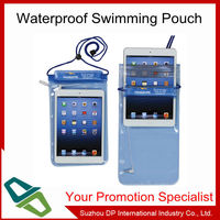 Waterproof Material IPX8 tablet PC beach bag waterproof pouch
