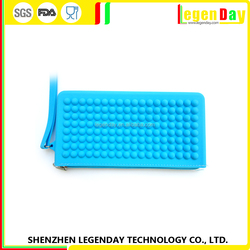 High Quality silicone leather wallet manufacturer