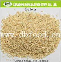 2015 High purity top grade dried garlic granules price