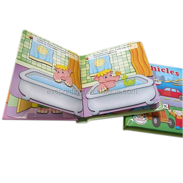Children story board book printing