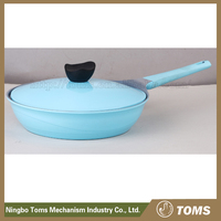 Environmental friendly non-stick deep fry pan kitchenware