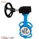 cement DN80 ss 304 square shaft Fully Lug BS5163 butterfly valve with electric actuator