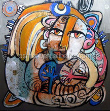 Lady Figure Art Oil Painting on Canvas Modern Abstract Human Figure Oil Painting Styles Of Art New Products 2016