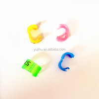 Finch Clips Rings Canary Rings Budgie RIngs Birds Rings Plastic Rings