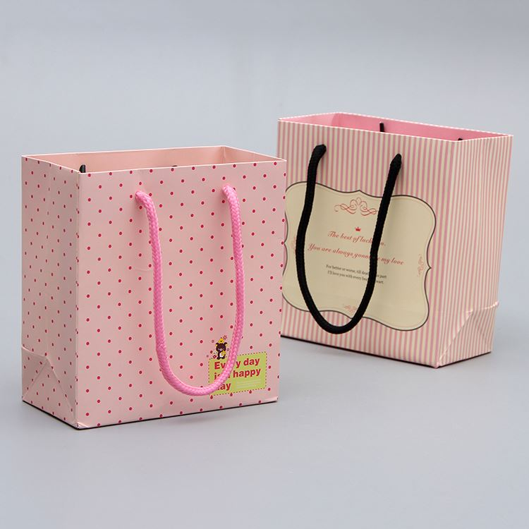 New product good quality gift shap handbag paper bag