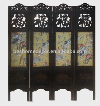 2013 fashion chinese antique screen,wood screen