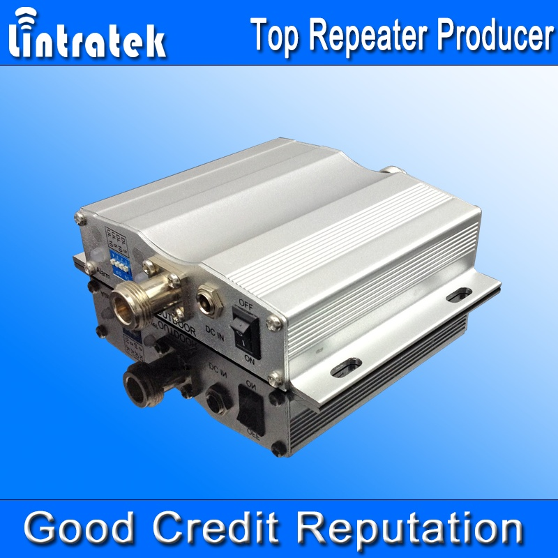 lintratek brand 4G lte mobile phone signal booster 2600mhz frequency