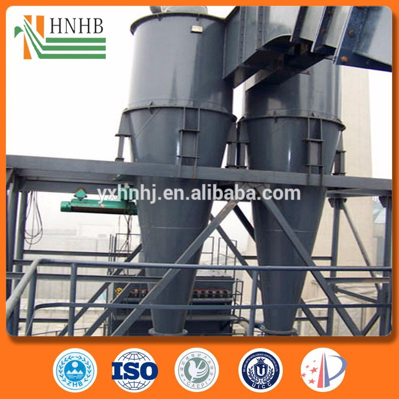 Environmentally Friendly cyclone dust collector filter for Non Fibrous Dust Removal