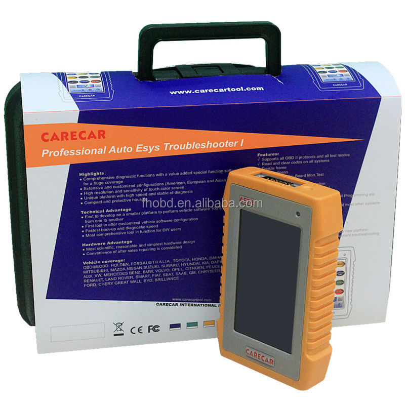 Professional Universal Auto Diagnostic Tool CARE CAR TS760 Auto Diagnostic Tools with Touch Screen