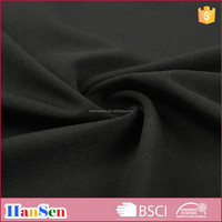 Semi-dull polyester spandex high elastic sports knitted fabric with wicking