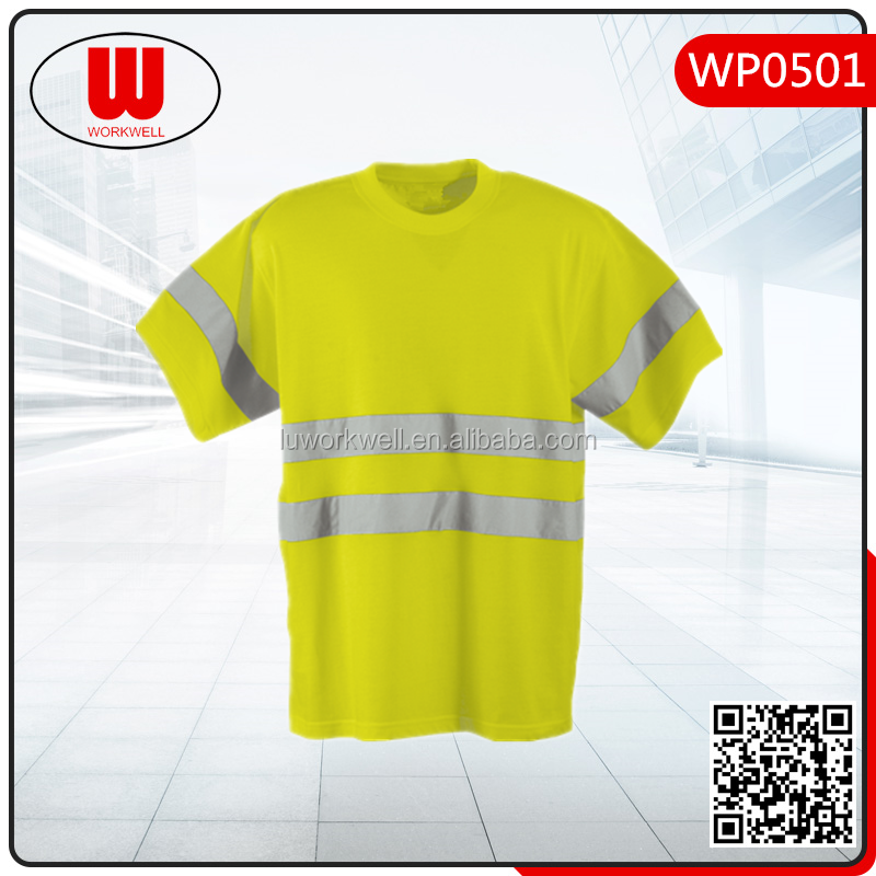 Wholesale High Visibility Safety Reflective T Shirt Buy