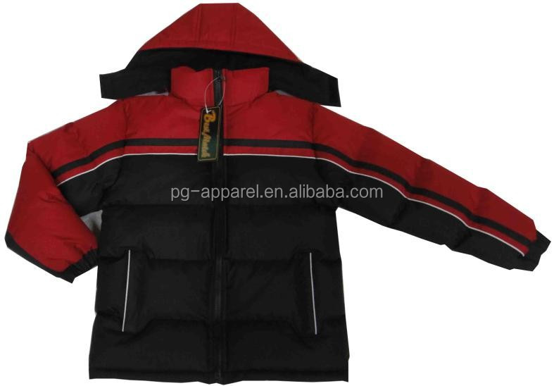 2015 Newest children clothes Boys winter padded jacket
