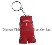 Wholesale custom shape football keychain