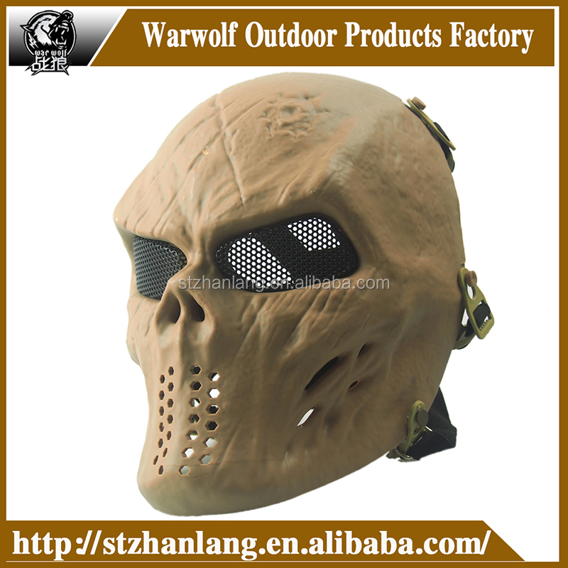 Outdoor games /paintball /cs mask / Full Face Airsoft face Mask