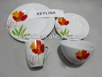 Top quality contemporary indian round plate dinnerware sets