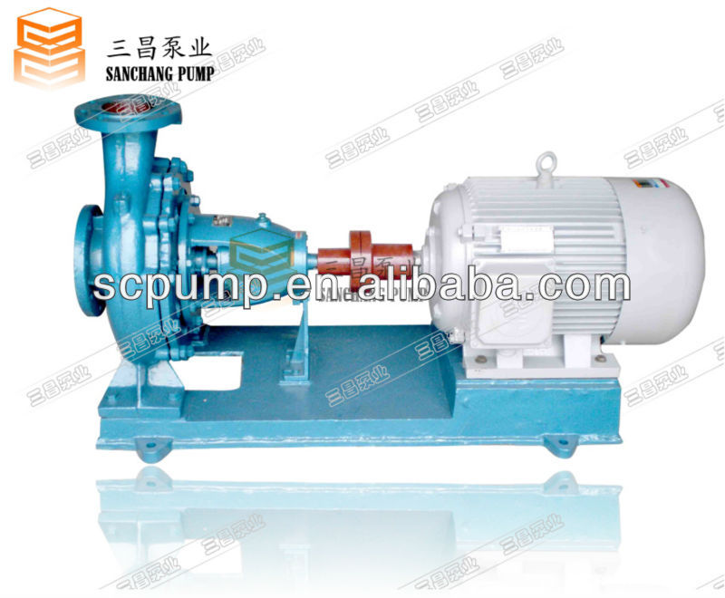 IS-model axially split end suction centrifugal pumps