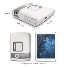 Flysight New Coming 1080p 4K Pico Projector 2000 lumens/500ANSI HDMI Projector DLP Mini Projector