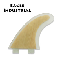 Wholesale wood grain finely processed fiberglass bodyboard fins
