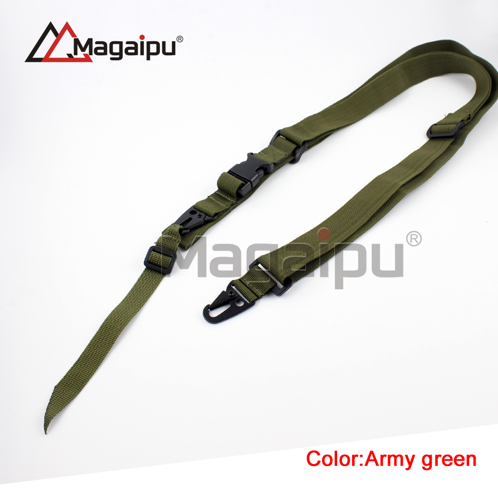 Camo 2 Point Adjustable Portable Elastic Bungee Rifle Sling for Air Gun