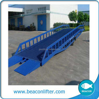 good sale yard ramp mobile dock ramp leveler