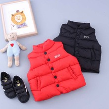 TC18008 New Fashion Thicked Safety Baby Wasitcoat Hot selling Baby Cotton Vest