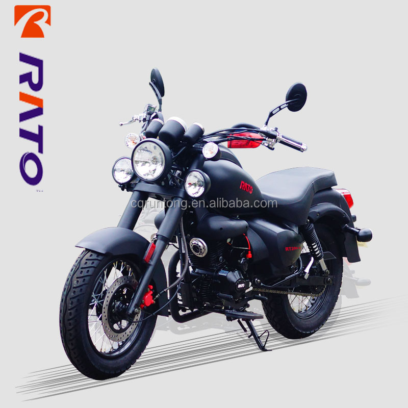 Prince series 4-stroke vertical RT200-4 200cc cruiser motorcycle for sale
