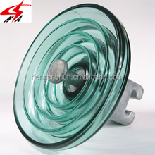 U420B/205 Glass insulators high voltage electricity Suspension Toughened Glass Insulator,
