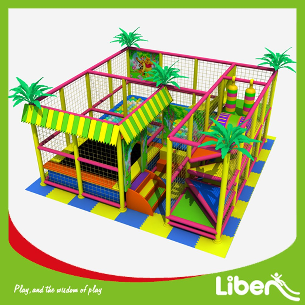 High Quality Small Size Indoor Playground on Sales