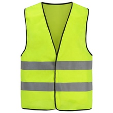 High Visibility Yellow Reflective <strong>Safety</strong> Vest